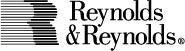 Reynolds and Reynolds black and white logo