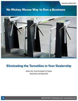 No Mickey Mouse Way to Run a Business - Eliminating the Turnstiles in Your Dealership