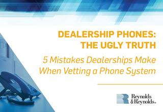 Dealership Phones: The Ugly Truth