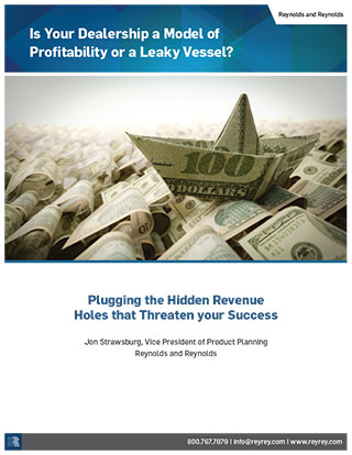 Whitepaper-Is Your Dealership a Model of Profitability or a Leaky Vessel?