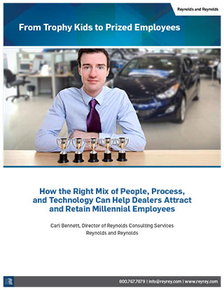 From Trophy Kids to Prized Employees - How the Right Mix of People, Process, and Technology Can Help Dealers Attract and Retain Millennial Employees