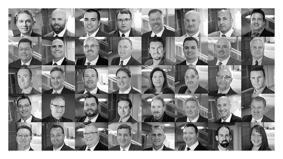 Collage of consultant images.