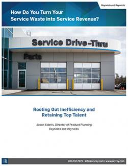 Turning service waste into service revenue whitepaper.